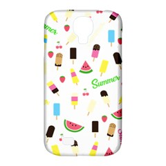 Summer Pattern Samsung Galaxy S4 Classic Hardshell Case (pc+silicone) by Valentinaart