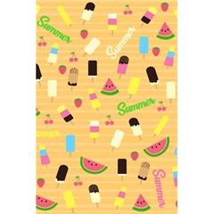 Summer Pattern 5 5  X 8 5  Notebooks by Valentinaart
