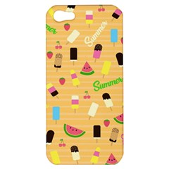 Summer Pattern Apple Iphone 5 Hardshell Case by Valentinaart