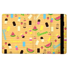 Summer Pattern Apple Ipad 3/4 Flip Case by Valentinaart