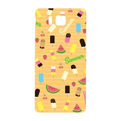 Summer Pattern Samsung Galaxy Alpha Hardshell Back Case by Valentinaart