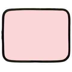 Blush Pink Netbook Case (large) by SimplyColor
