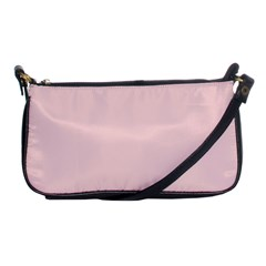 Blush Pink Shoulder Clutch Bags by SimplyColor