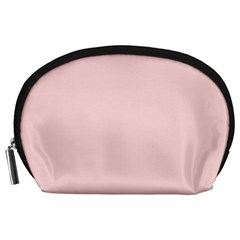 Blush Pink Accessory Pouches (large)  by SimplyColor