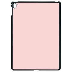 Blush Pink Apple Ipad Pro 9 7   Black Seamless Case by SimplyColor