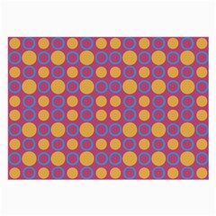 Colorful Geometric Polka Print Large Glasses Cloth (2 Side) by dflcprints