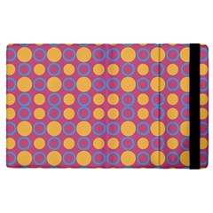 Colorful Geometric Polka Print Apple Ipad Pro 12 9   Flip Case by dflcprints
