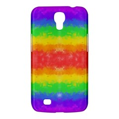 Striped Painted Rainbow Samsung Galaxy Mega 6 3  I9200 Hardshell Case by Brini