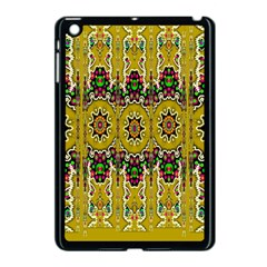 Rainbow And Stars Coming Down In Calm  Peace Apple Ipad Mini Case (black) by pepitasart