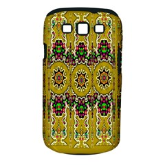 Rainbow And Stars Coming Down In Calm  Peace Samsung Galaxy S Iii Classic Hardshell Case (pc+silicone) by pepitasart