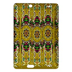 Rainbow And Stars Coming Down In Calm  Peace Amazon Kindle Fire Hd (2013) Hardshell Case by pepitasart