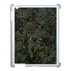 Chaos B2 Apple Ipad 3/4 Case (white) by MoreColorsinLife