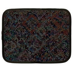 Chaos B3 Netbook Case (large) by MoreColorsinLife