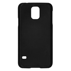 Simply Black Samsung Galaxy S5 Case (black) by SimplyColor