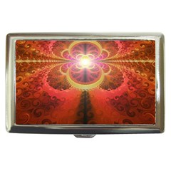 Liquid Sunset, A Beautiful Fractal Burst Of Fiery Colors Cigarette Money Cases by beautifulfractals