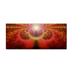 Liquid Sunset, A Beautiful Fractal Burst Of Fiery Colors Cosmetic Storage Cases