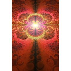 Liquid Sunset, A Beautiful Fractal Burst Of Fiery Colors 5 5  X 8 5  Notebooks by jayaprime