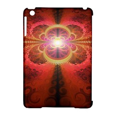 Liquid Sunset, A Beautiful Fractal Burst Of Fiery Colors Apple Ipad Mini Hardshell Case (compatible With Smart Cover) by jayaprime
