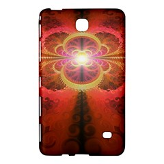 Liquid Sunset, A Beautiful Fractal Burst Of Fiery Colors Samsung Galaxy Tab 4 (8 ) Hardshell Case  by beautifulfractals