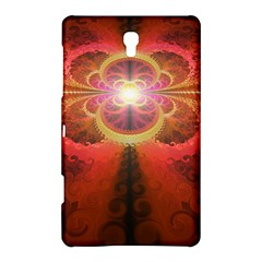 Liquid Sunset, A Beautiful Fractal Burst Of Fiery Colors Samsung Galaxy Tab S (8 4 ) Hardshell Case  by beautifulfractals