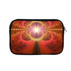 Liquid Sunset, A Beautiful Fractal Burst Of Fiery Colors Apple Macbook Pro 13  Zipper Case by jayaprime