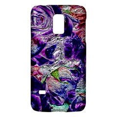 Floral Chrome 01a Galaxy S5 Mini by MoreColorsinLife