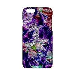 Floral Chrome 01a Apple Iphone 6/6s Hardshell Case by MoreColorsinLife
