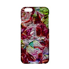 Floral Chrome 01c Apple Iphone 6/6s Hardshell Case by MoreColorsinLife