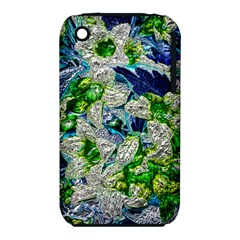Floral Chrome 2a Iphone 3s/3gs by MoreColorsinLife