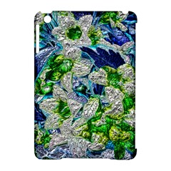 Floral Chrome 2a Apple Ipad Mini Hardshell Case (compatible With Smart Cover) by MoreColorsinLife