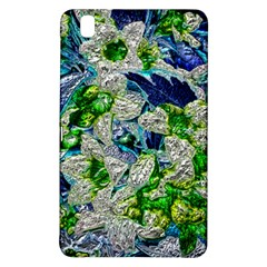 Floral Chrome 2a Samsung Galaxy Tab Pro 8 4 Hardshell Case by MoreColorsinLife