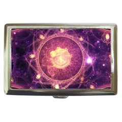 A Gold And Royal Purple Fractal Map Of The Stars Cigarette Money Cases by beautifulfractals