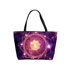 A Gold And Royal Purple Fractal Map Of The Stars Shoulder Handbags by beautifulfractals