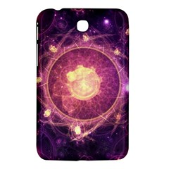 A Gold And Royal Purple Fractal Map Of The Stars Samsung Galaxy Tab 3 (7 ) P3200 Hardshell Case  by jayaprime