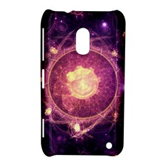 A Gold And Royal Purple Fractal Map Of The Stars Nokia Lumia 620 by beautifulfractals