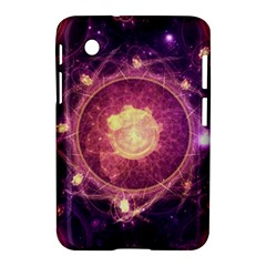 A Gold And Royal Purple Fractal Map Of The Stars Samsung Galaxy Tab 2 (7 ) P3100 Hardshell Case