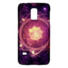 A Gold And Royal Purple Fractal Map Of The Stars Galaxy S5 Mini by beautifulfractals