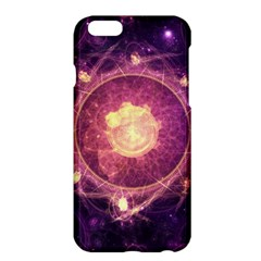 A Gold And Royal Purple Fractal Map Of The Stars Apple Iphone 6 Plus/6s Plus Hardshell Case by jayaprime