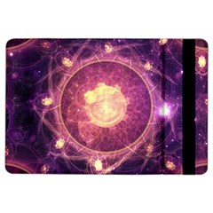 A Gold And Royal Purple Fractal Map Of The Stars Ipad Air 2 Flip by jayaprime