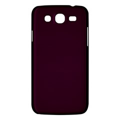 Black Cherry Solid Color Samsung Galaxy Mega 5 8 I9152 Hardshell Case  by SimplyColor