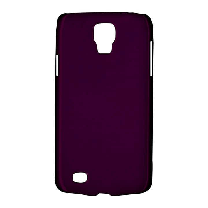 Black Cherry Solid Color Galaxy S4 Active