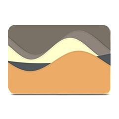 Wave Chevron Waves Material Plate Mats by Mariart