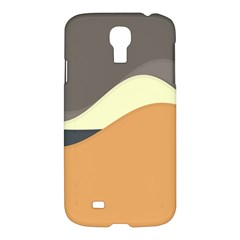 Wave Chevron Waves Material Samsung Galaxy S4 I9500/i9505 Hardshell Case by Mariart