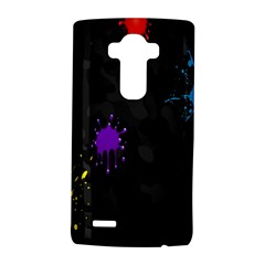 Black Camo Shot Spot Paint Lg G4 Hardshell Case by Mariart