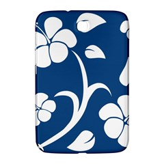 Blue Hawaiian Flower Floral Samsung Galaxy Note 8 0 N5100 Hardshell Case  by Mariart