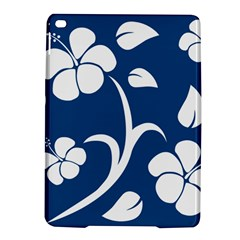 Blue Hawaiian Flower Floral Ipad Air 2 Hardshell Cases by Mariart
