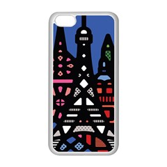 7 Wonders World Apple Iphone 5c Seamless Case (white) by Mariart