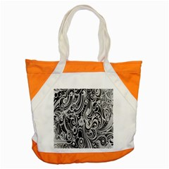 Black White Shape Accent Tote Bag by Mariart