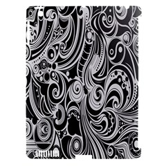 Black White Shape Apple Ipad 3/4 Hardshell Case (compatible With Smart Cover) by Mariart