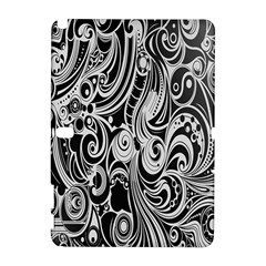 Black White Shape Galaxy Note 1 by Mariart